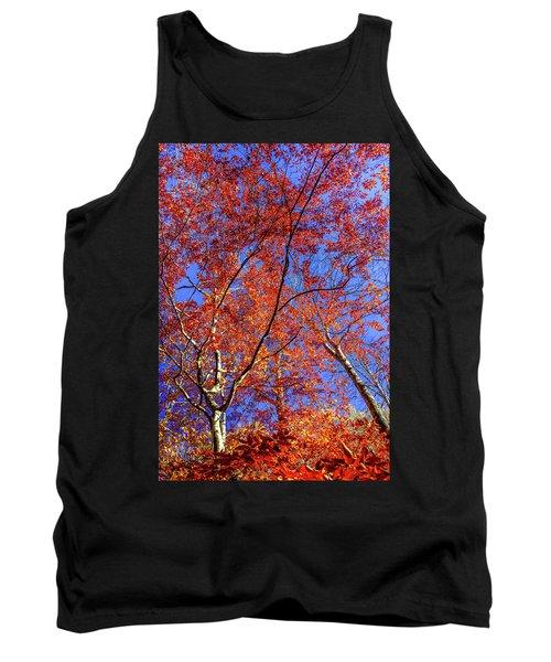 Autumn Blaze Tank Top by Karen Wiles