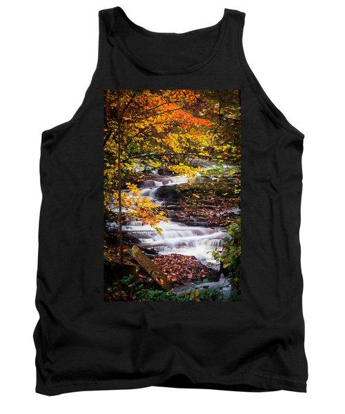 Autumn Cascade  Tank Top