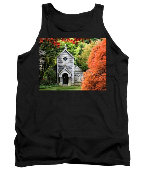 Autumn Chapel Tank Top by Betty Denise
