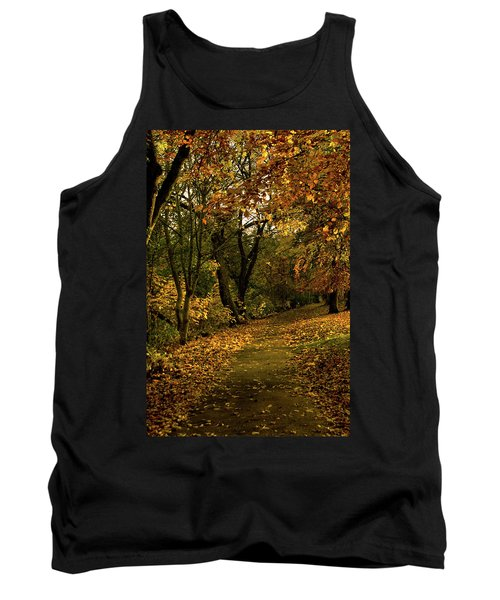 Autumn / Fall By The River Ness Tank Top by Jacqi Elmslie