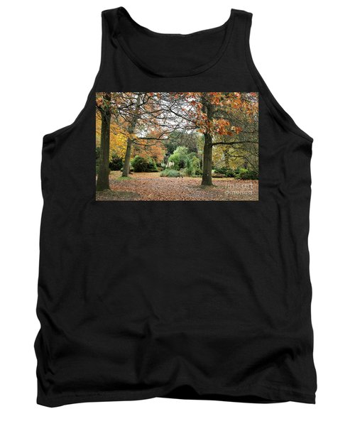 Tank Top featuring the photograph Autumn Fall by Katy Mei