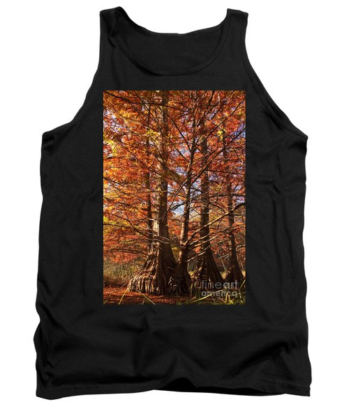 Tank Top featuring the photograph Autumn Grandeur At Lake Murray by Tamyra Ayles