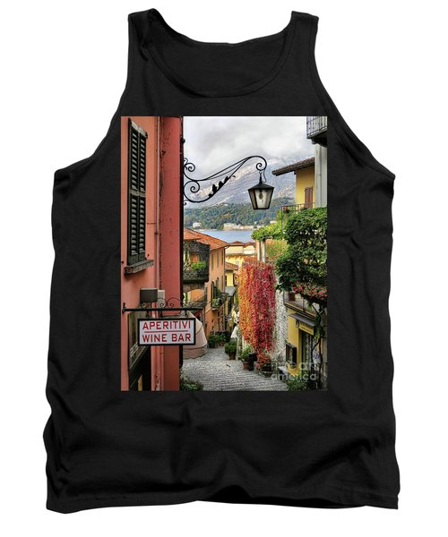 Autumn In Bellagio Tank Top by Jennie Breeze