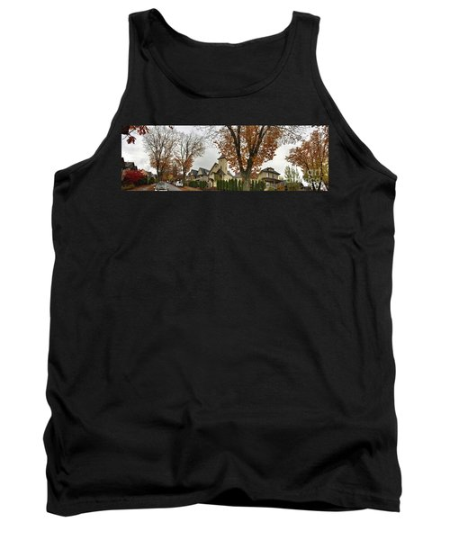 Autumn In The City 11 Tank Top by Victor K