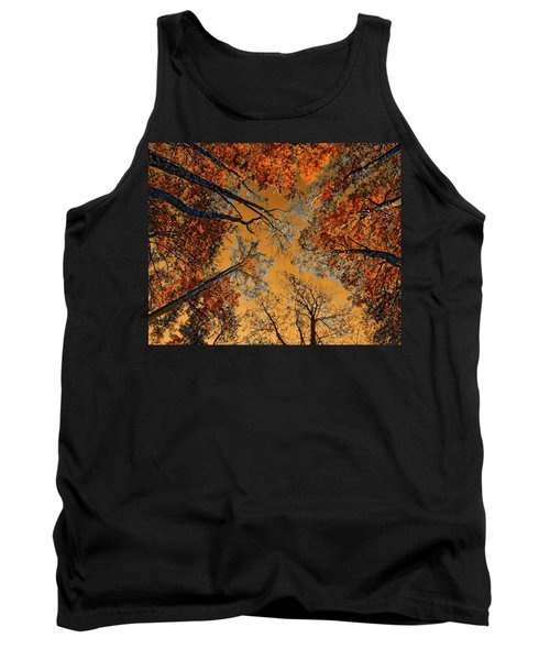 Autumn In The Forest Tank Top