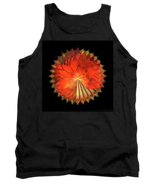 Autumn Leaves - Composition 2 Tank Top