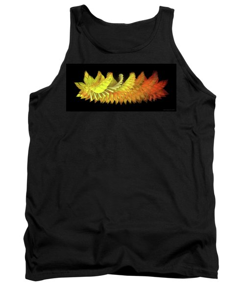 Autumn Leaves - Composition 2.3 Tank Top