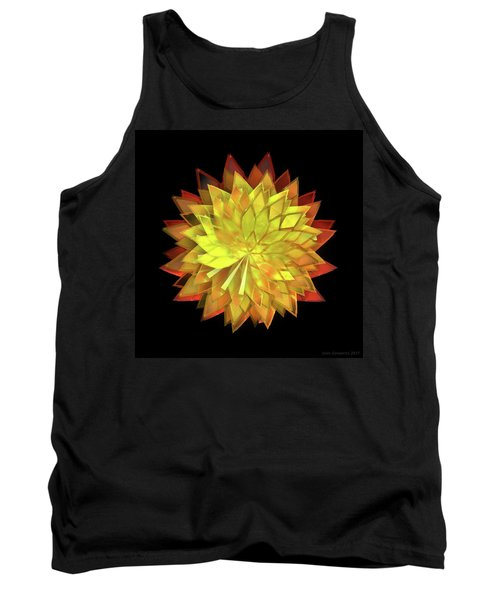 Autumn Leaves - Composition 4 Tank Top
