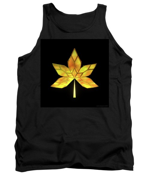 Autumn Leaves - Frame 070 Tank Top