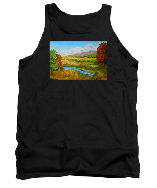 Autumn Nature Tank Top