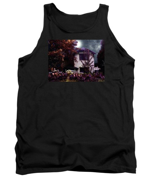 Autumn Night In The Country Tank Top by RC deWinter