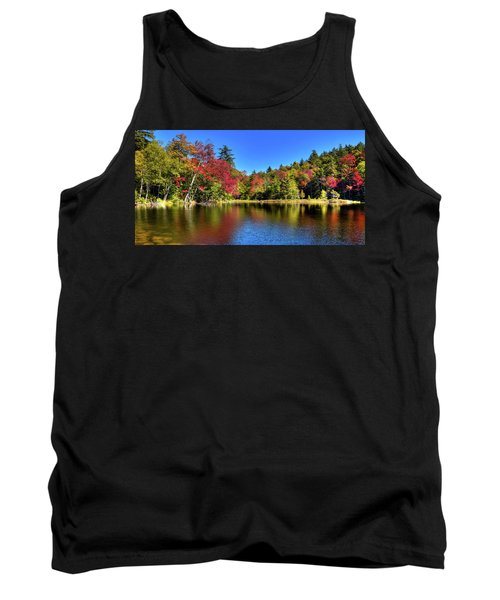 Autumn On 7th Lake Tank Top