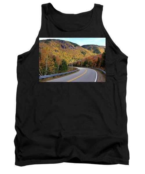 Autumn On The Cabot Trail, Cape Breton, Canada Tank Top