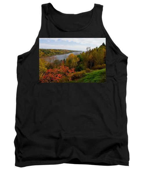 Autumn On The Penobscot Tank Top by Brent L Ander