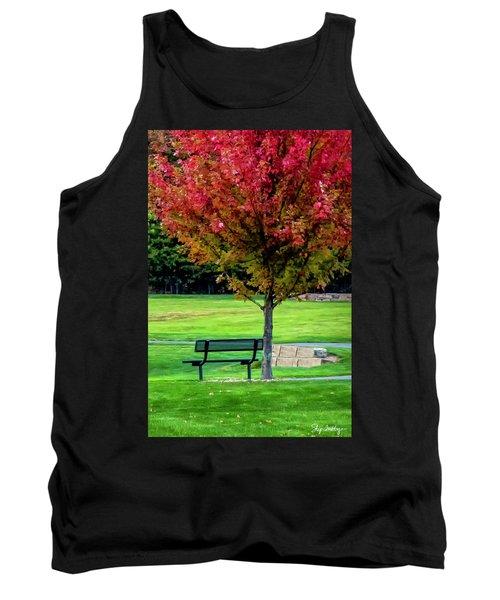 Autumn Park Tank Top
