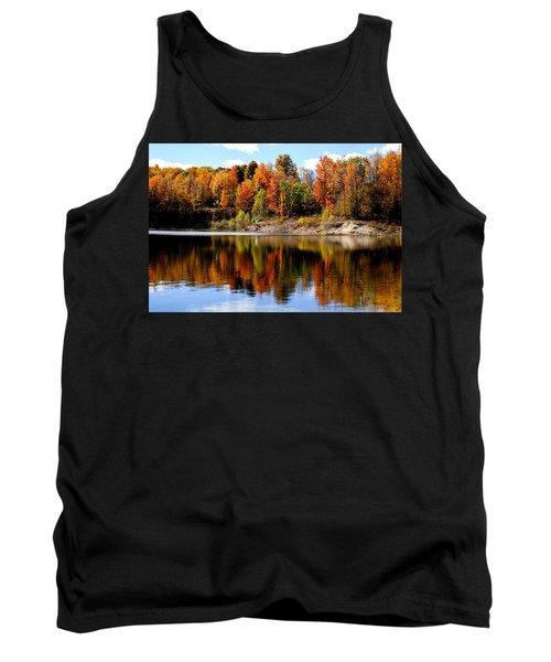 Autumn Reflected Tank Top by John McArthur