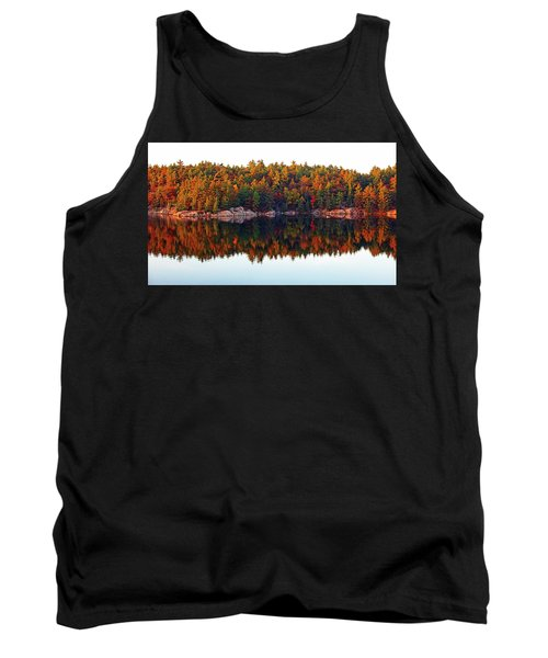 Autumn Reflections Tank Top by Debbie Oppermann