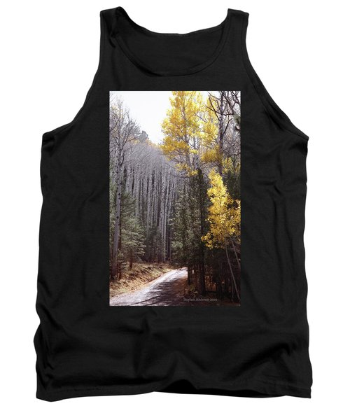 Autumn Road Tank Top