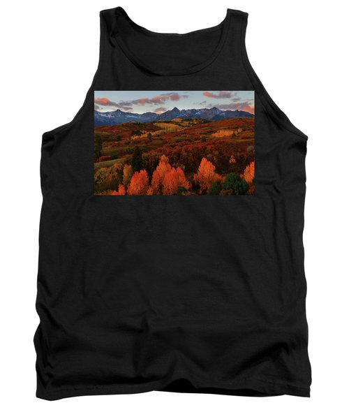 Autumn Sunrise At Dallas Divide In Colorado Tank Top by Jetson Nguyen
