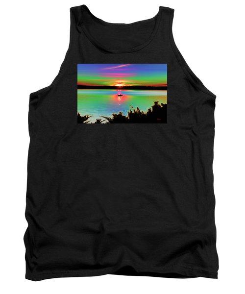 Autumn Sunset Tank Top