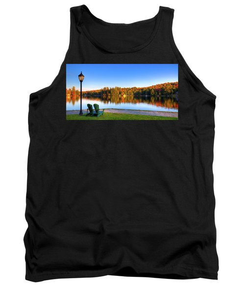 Autumn View For Two Tank Top