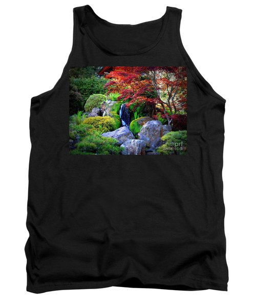 Autumn Waterfall Tank Top