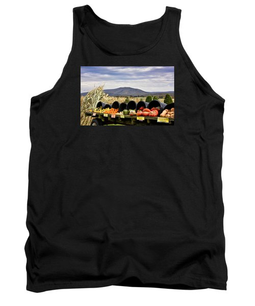 Autumnal Abundance In The Blue Ridge Mountains - Virginia Tank Top by Brendan Reals