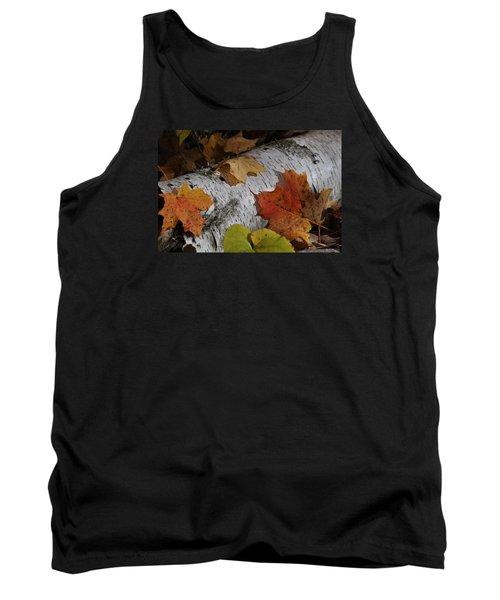Autumnal Melange Tank Top