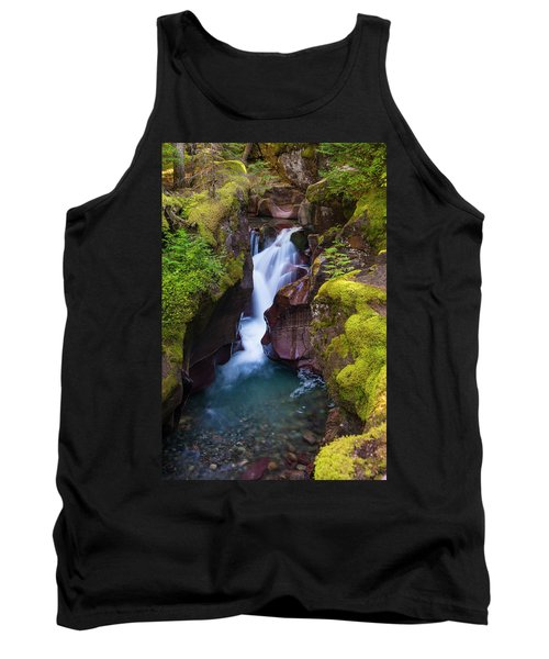 Tank Top featuring the photograph Avalanche Gorge 4 by Gary Lengyel