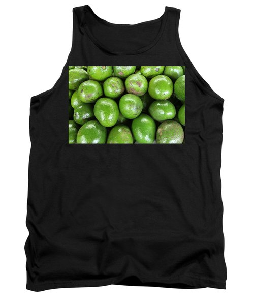 Avocados 243 Tank Top by Michael Fryd