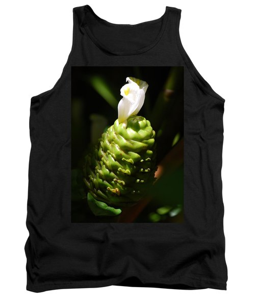 Tank Top featuring the photograph Awapuhi Plant by Debbie Karnes