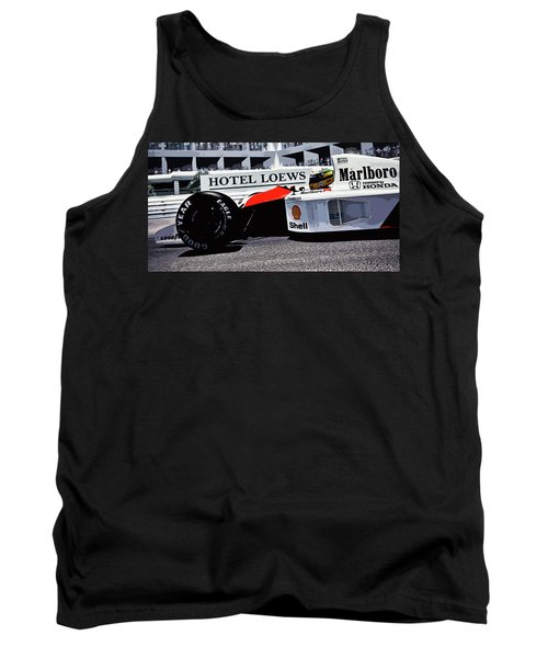 Ayrton Senna - Montecarlo Tank Top