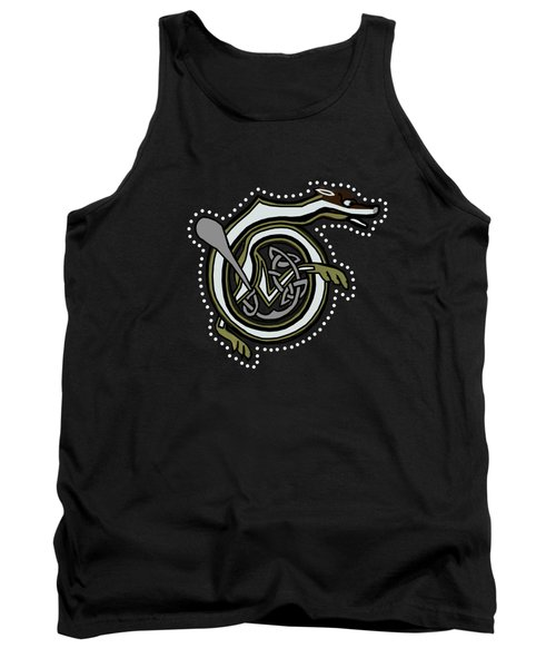 B Is For Badger 2017 Tank Top by Donna Huntriss