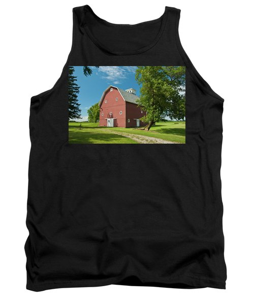 Tank Top featuring the photograph Babcock Barn 2259 by Guy Whiteley