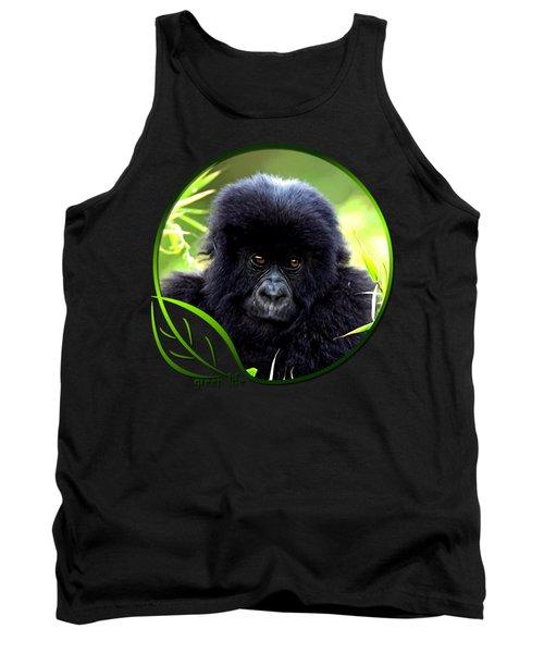 Baby Gorilla Tank Top by Dan Pagisun