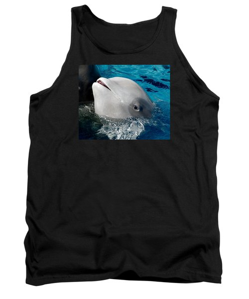 Tank Top featuring the photograph Baby Whale by Bob Pardue
