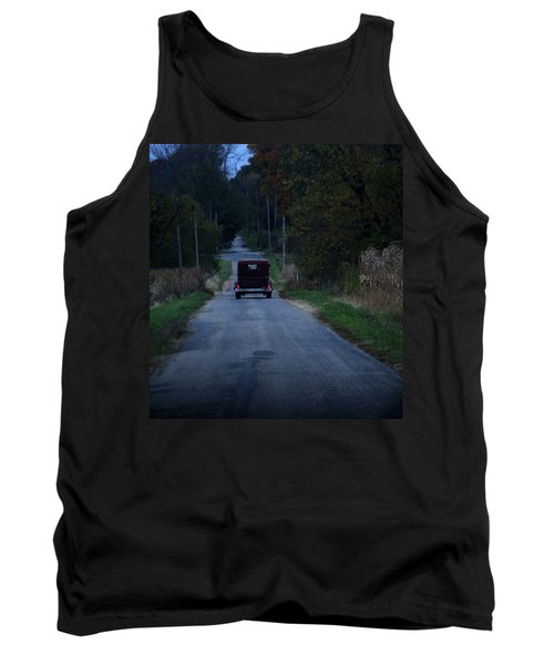 Tank Top featuring the photograph Back Roads by Rowana Ray