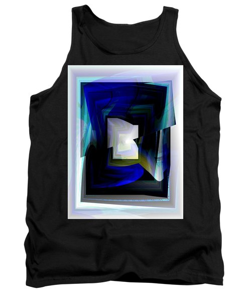The End Of The Tunnel Tank Top by Thibault Toussaint