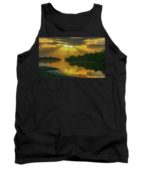 Back Up Reflection Tank Top