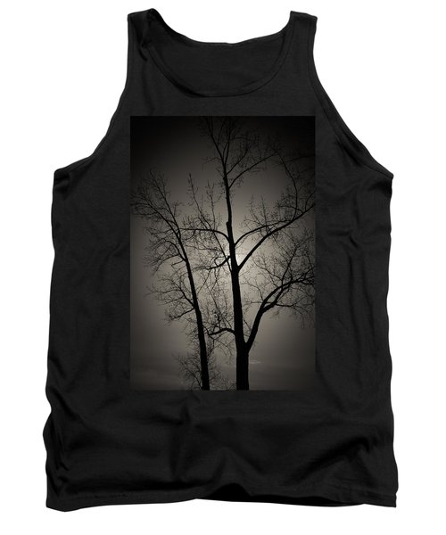 Backlit Trees Tank Top