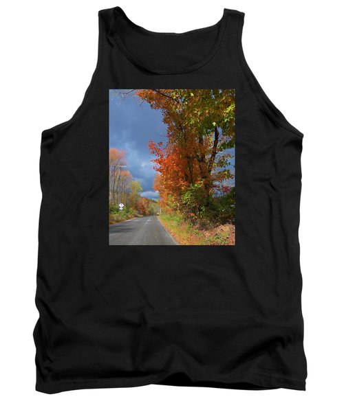Tank Top featuring the photograph Backroad Country In Pennsylvania by Jeanette Oberholtzer