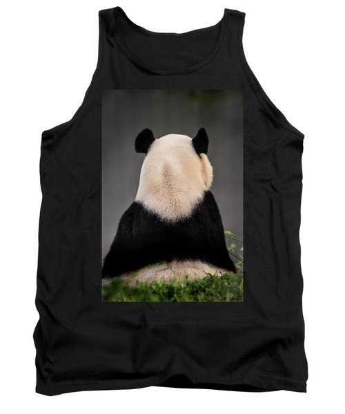 Backward Panda Tank Top