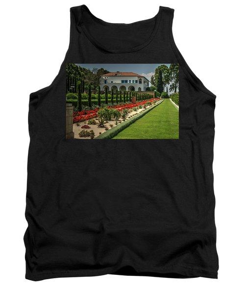 Baha'i Gardens 1 Tank Top