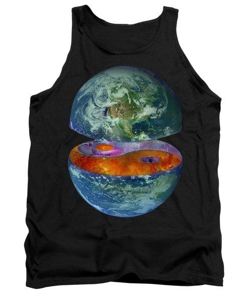 Balance T-shirt Design Tank Top