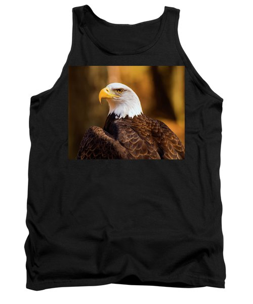 Bald Eagle 2 Tank Top by Chris Flees