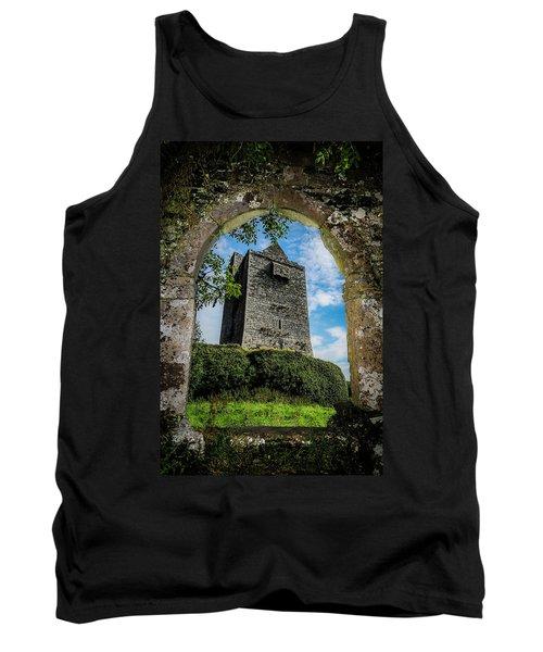 Tank Top featuring the photograph Ballinalacken Castle In County Clare, Ireland by James Truett