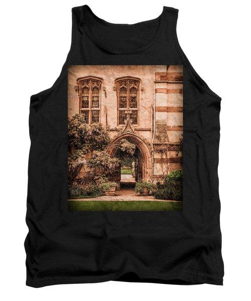 Oxford, England - Balliol Gate Tank Top
