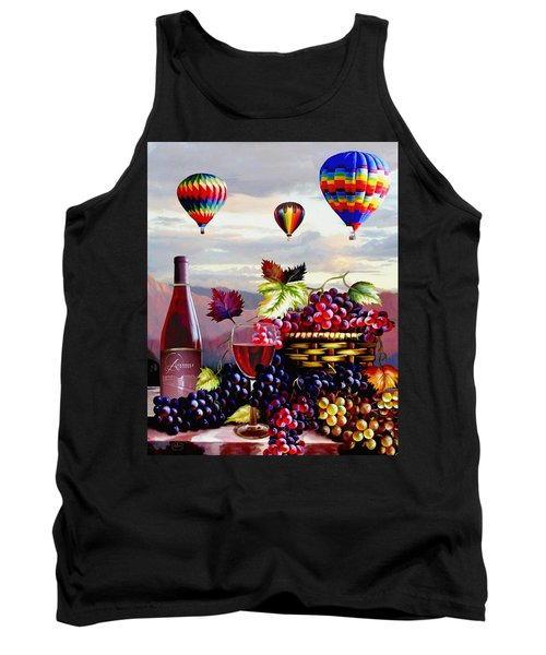 Balloon Ride At Dawn Tank Top by Ron Chambers