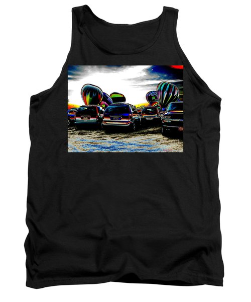 Tank Top featuring the photograph Balloons by Greg Patzer