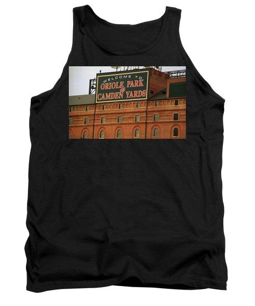 Baltimore Orioles Park At Camden Yards Tank Top